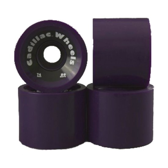 Cadillac Cruiser 74mm/ 80a Wheels 4er Pack purple