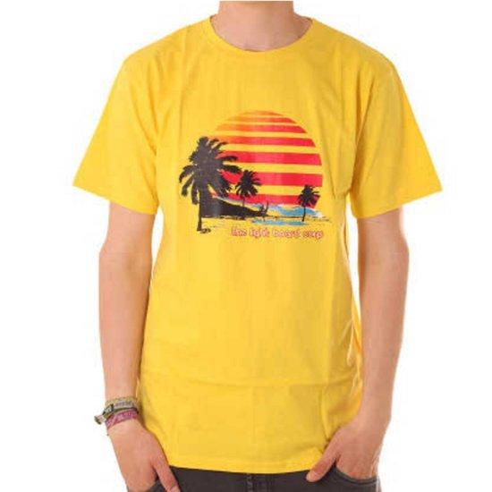 Light T-Shirt Sunset Yellow