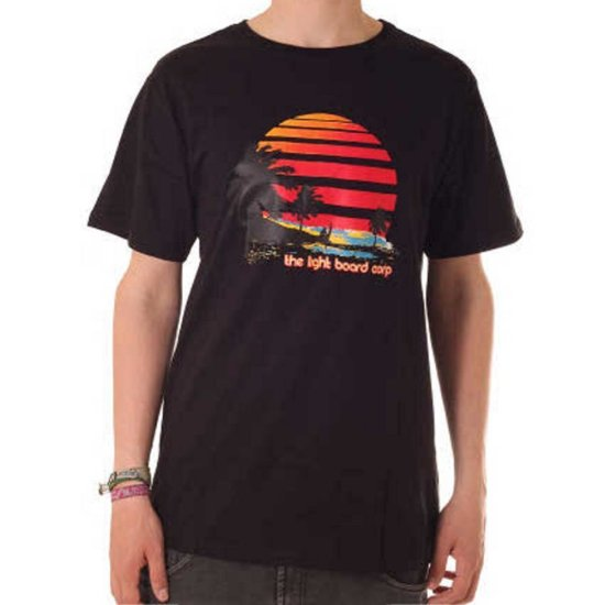 Light T-Shirt Sunset Black
