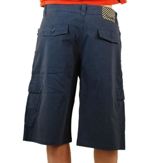 Light Raw walkshort navy 30