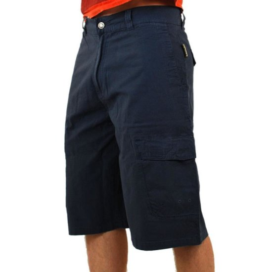 Light Raw walkshort navy 32