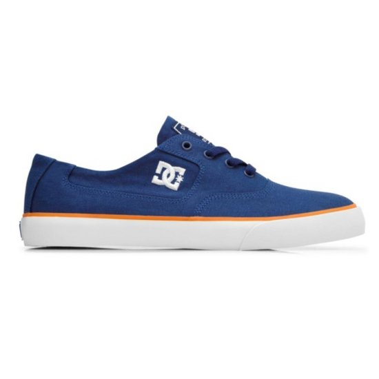 DC shoes Flash TX Sneaker navy/ orange 41