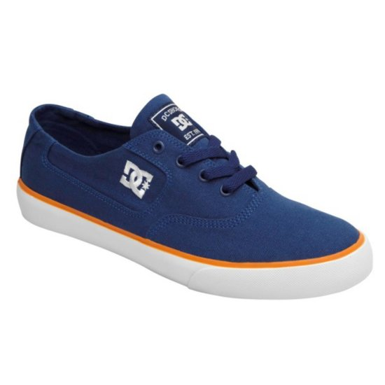 DC shoes Flash TX Sneaker navy/ orange 44