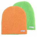 Neff Daily Reversible Beanie slime/ orange