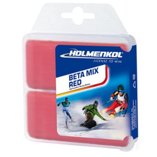 Holmenkol Wax BETAMIX RED 2x35g