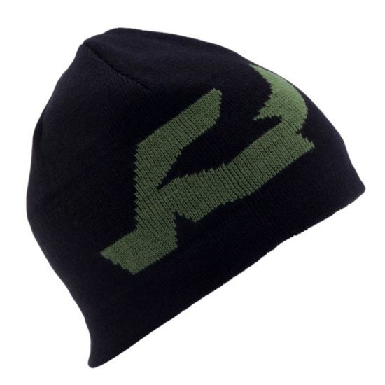 Ride Logo reversible Beanie black