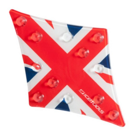 Icetools Diamond Union Jack stomp pad