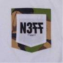 Neff Under Camo Tee white L