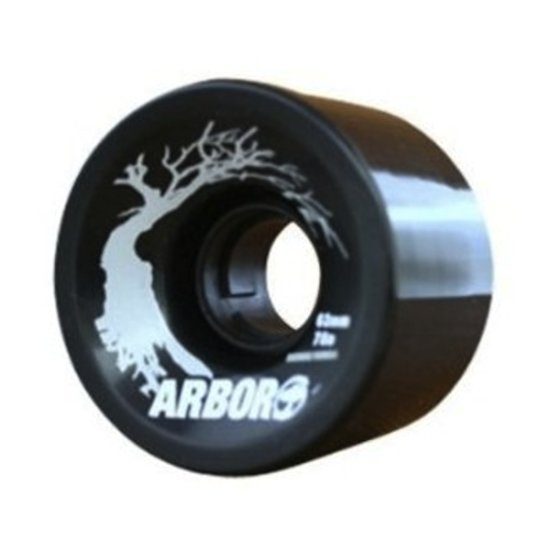 Arbor Hyprid Series 63mm/ 78a Wheels 4er Pack black