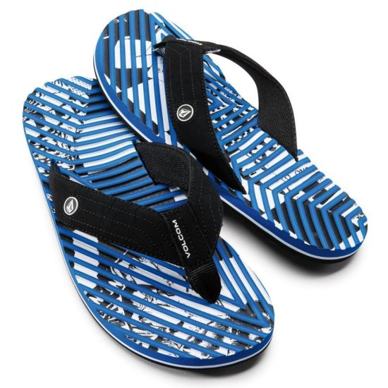 Volcom Fraction Sandal - blue
