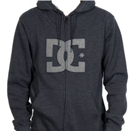 DC Shoes Hookup Zip dark shadow