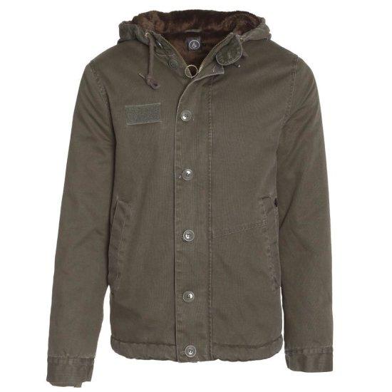 Volcom Rockage Jacket fatigue green