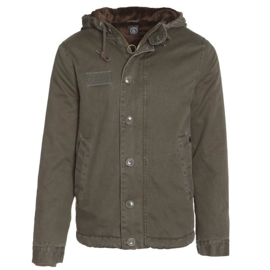 Volcom Rockage Jacket fatigue green L