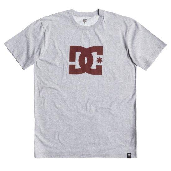 DC shoes Star SS T-Shirt grey L
