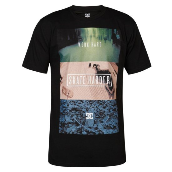 DC shoes Harder SS T-Shirt black S
