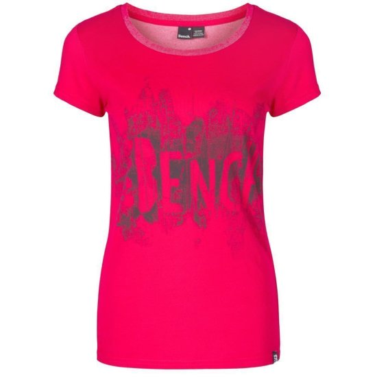 Bench Splatter T-shirt cerise XS