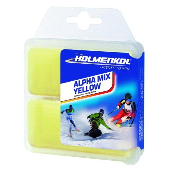 Holmenkol Wax ALPHAMIX YELLOW 2x35g