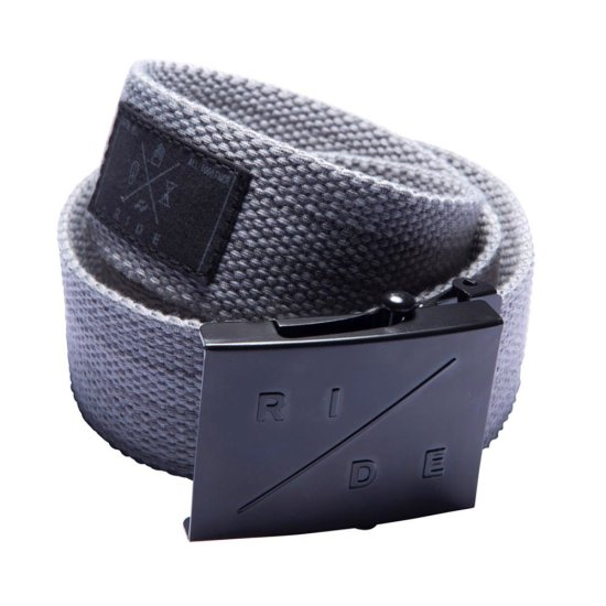 Ride Scout webbing belt heather gray