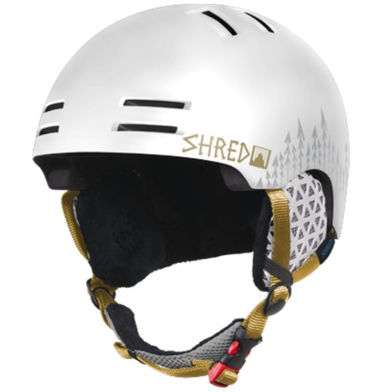 Shred Slap Cap White Out Snowhelm white