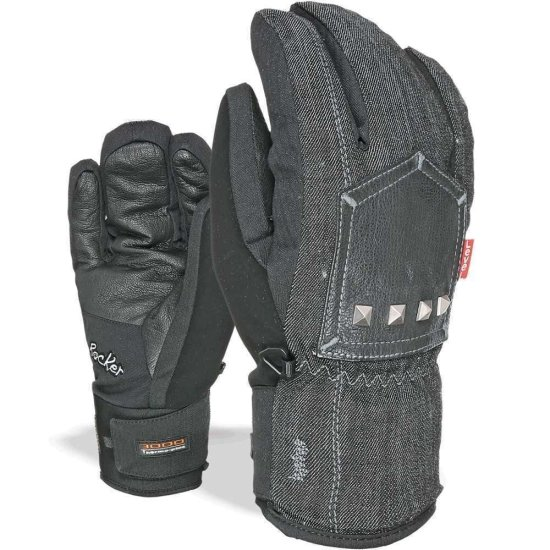 Level Rocker Snowboard Glove dark