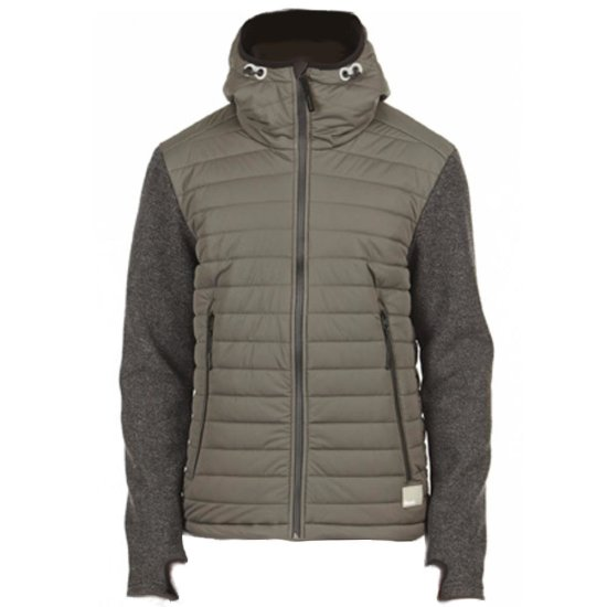 Bench Wookey Jacket - dark shadow S