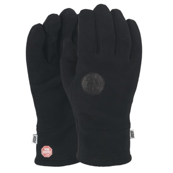 POW Link TT WS Fleece glove black M