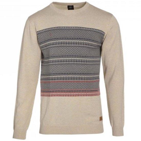 Volcom Watson Crew Sweater heather drill khaki