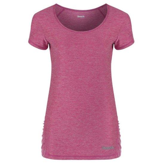 Bench Lulah Short T-shirt meadow mauve marl L