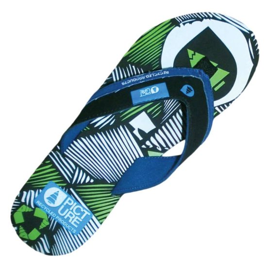 Picture Moonlight Flip Flops - schwarz