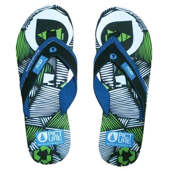 Picture Moonlight Flip Flops - schwarz 38/ 39