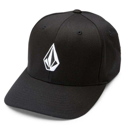 Volcom Full Stone Xfit Hat - black L/XL