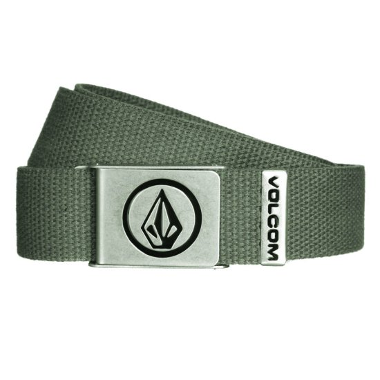 Volcom Circle web belt old blackboard