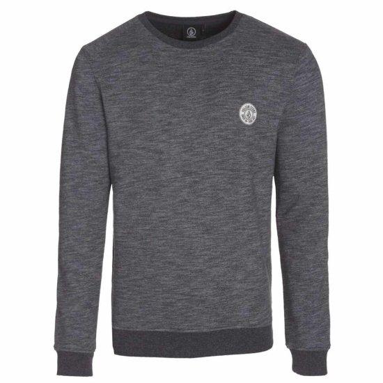 Volcom Stockpile Crew Sweatshirt black