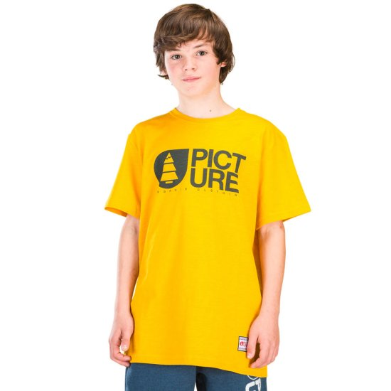 Picture Basement Start Tshirt - yellow 12