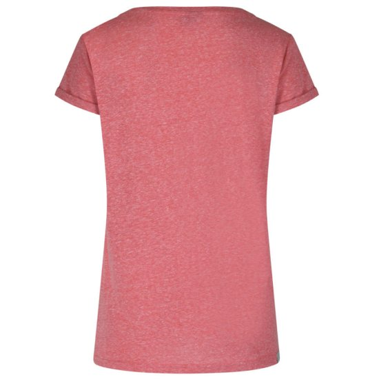 Bench Numeral T-shirt - red marl L