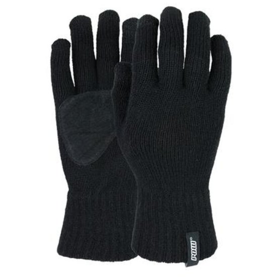 POW Knit TT glove black Handschuh