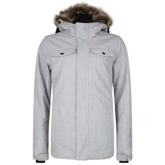 ONeill Signal Jacket 10k - silver melee M