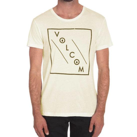 Volcom Downward LW SS T-Shirt egg white S