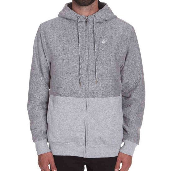Volcom Static Stone Line Zip - grey L