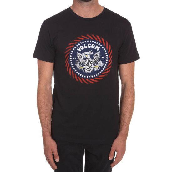 Volcom Free 4th Basic SS T-Shirt black L