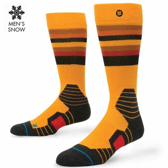 Stance Snow Saw Mill Socke - yellow