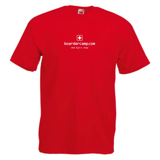 boardercamp Basic T-Shirt - rot S