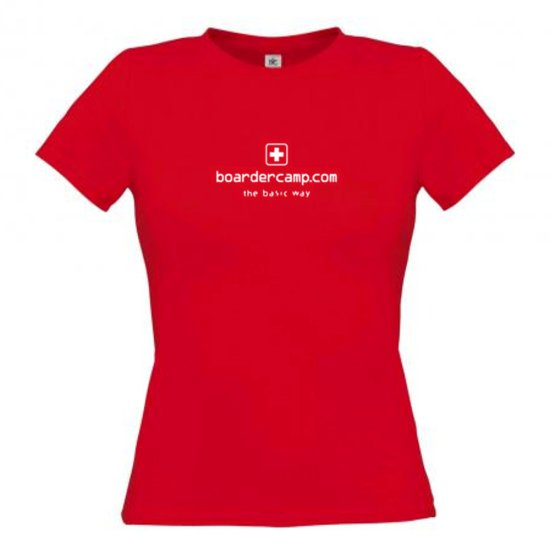 boardercamp W Basic T-Shirt - rot XS