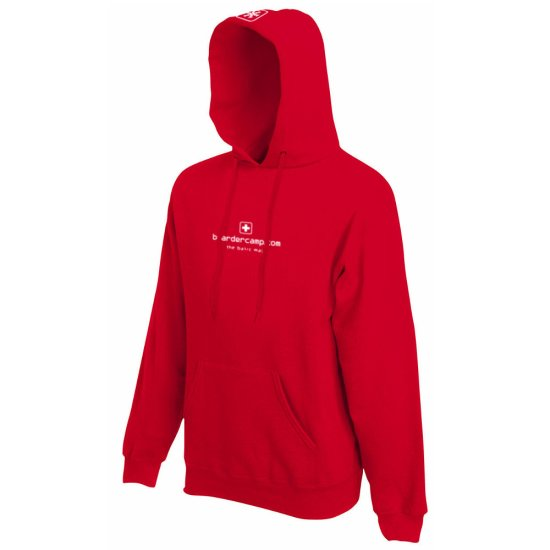 boardercamp W Kapuzenpulli Basic - rot XL