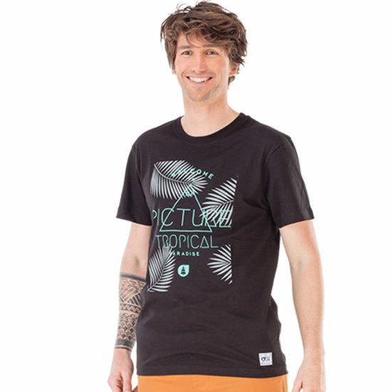 Picture Organic Tropical Tshirt - black M