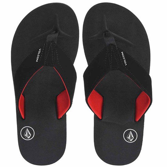 Volcom Victor Sandal - black top 40