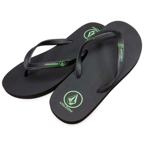 Volcom Rocker Solid Sandal - poison green 40