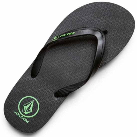 Volcom Rocker Solid Sandal - poison green 41 1/2