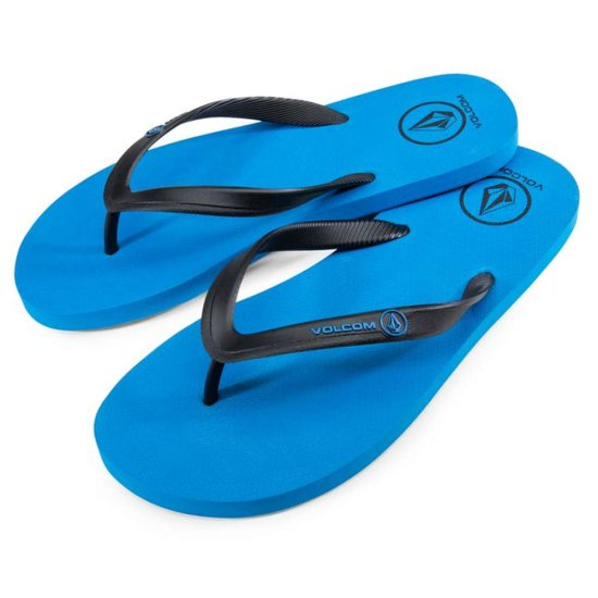 Volcom Rocker Solid Sandal - true blue