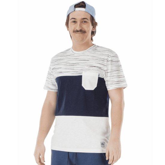 Picture Network Pocket Tshirt - white
